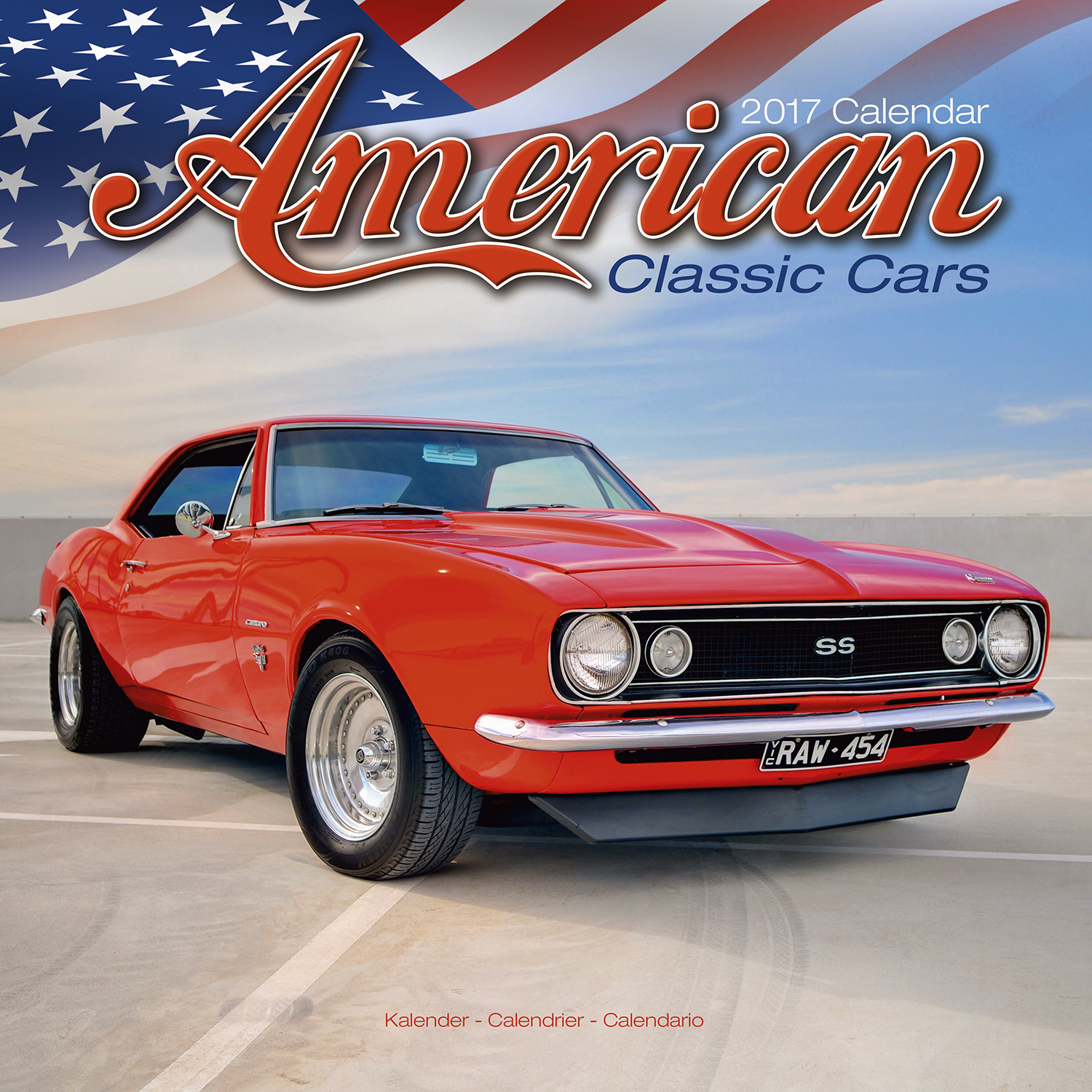 American classic cars calendar 2017 pet prints inc for American and classic cars