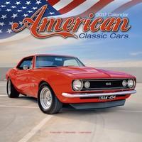 American Classic Cars Wall Calendar 2017
