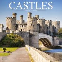 Castles Wall Calendar 2017
