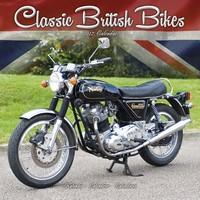 Classic British Motorbikes Wall Calendar 2017