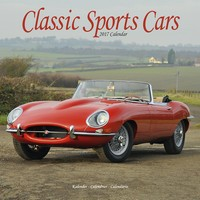 Classic Sports Cars Wall Calendar 2017