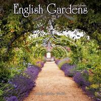 English Gardens Wall Calendar 2017