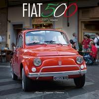 Fiat 500 Wall Calendar 2017