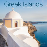 Greek Islands Wall Calendar 2017