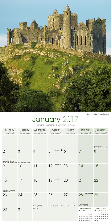 Calendar Ireland : Ireland calendar pet prints inc