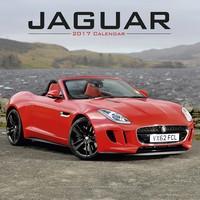 Jaguar Wall Calendar 2017