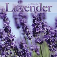 Lavender Wall Calendar 2017