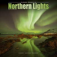 Northern Lights Wall Calendar 2017