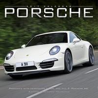 Porsche Wall Calendar 2017