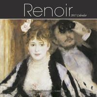 Renoir Wall Calendar 2017