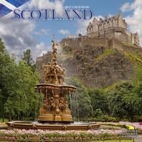Scotland Wall Calendar 2017