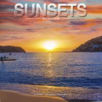 Sunsets Wall Calendar 2017