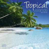 Tropical Islands Wall Calendar 2017