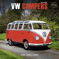 Vw Campers Wall Calendar 2017