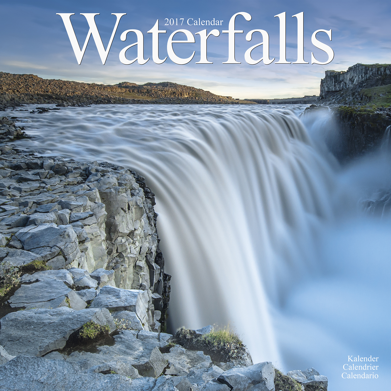Waterfalls Calendar 2017 30237-17   Travel, Places, Scenery