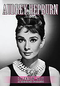 Audrey Hepburn Celebrity Wall Calendar 2017