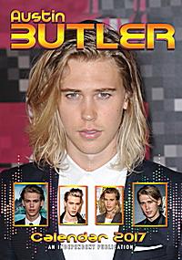 Austin Butler Celebrity Wall Calendar 2017