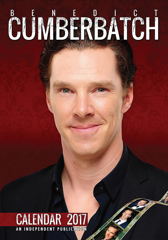 Benedict Cumberbatch Celebrity Wall Calendar 2017 5060085406215