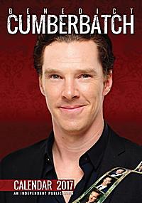 Benedict Cumberbatch Celebrity Wall Calendar 2017