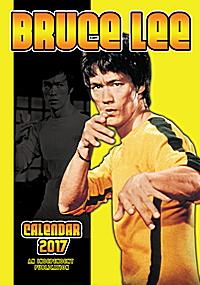 Bruce Lee Celebrity Wall Calendar 2017