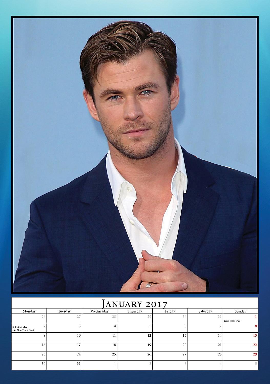 Chris Hemsworth Celebr...