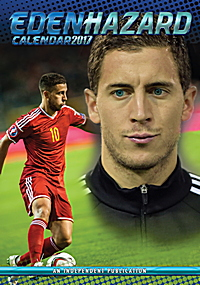 Eden Hazard Celebrity Wall Calendar 2017