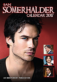 Ian Somerhalder Celebrity Wall Calendar 2017