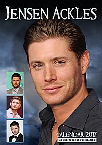 Jensen Ackles Celebrity Wall Calendar 2017
