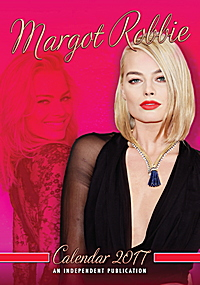 Margot Robbie Celebrity Wall Calendar 2017