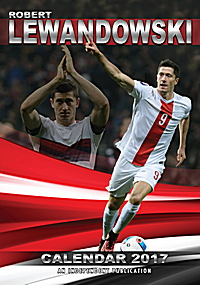 Robert Lewandowski Celebrity Wall Calendar 2017