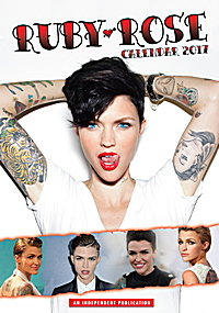 Ruby Rose Celebrity Wall Calendar 2017