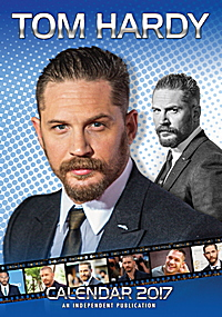 Tom Hardy Celebrity Wall Calendar 2017