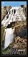 All About Waterfalls Wall Calendar 2017