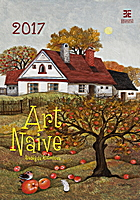 Art Naive Wall Calendar 2017