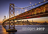 Bridges Wall Calendar 2017