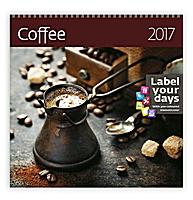 Coffee Wall Calendar 2017