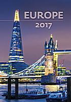 Europe Wall Calendar 2017