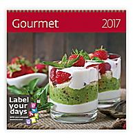 Gourmet Wall Calendar 2017