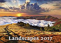 Landscapes Wall Calendar 2017