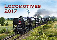 Locomotives Wall Calendar 2017