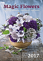 Magic Flowers Wall Calendar 2017
