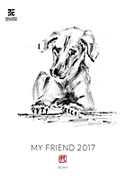 My Friend Wall Calendar 2017
