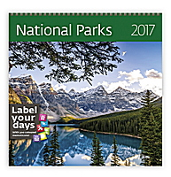 National Parks Wall Calendar 2017