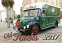 Old Trucks Wall Calendar 2017
