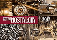 Retro Nostalgia Wall Calendar 2017