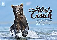 Wild Touch Wall Calendar 2017