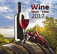 Wine Wall Calendar 2017
