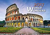 World Wonders Wall Calendar 2017