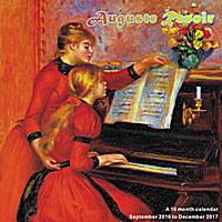 Auguste Renoir Wall Calendar 2017