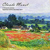 Claude Monet Wall Calendar 2017